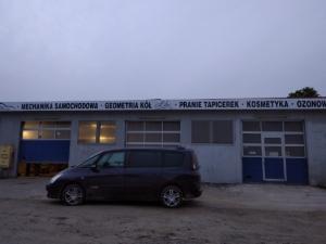 Nowa siedziba AutoMetria Geometria Kół i Mechanika przy ul. Otmuchowskiej 70, przy drodze głównej.